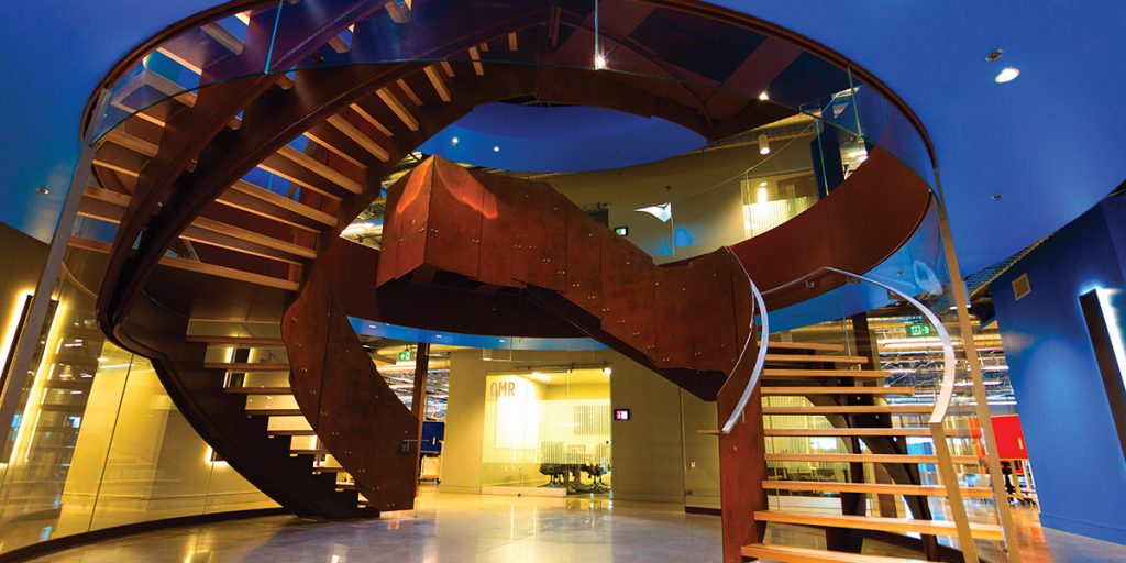 A case study on the Walters Group staircase